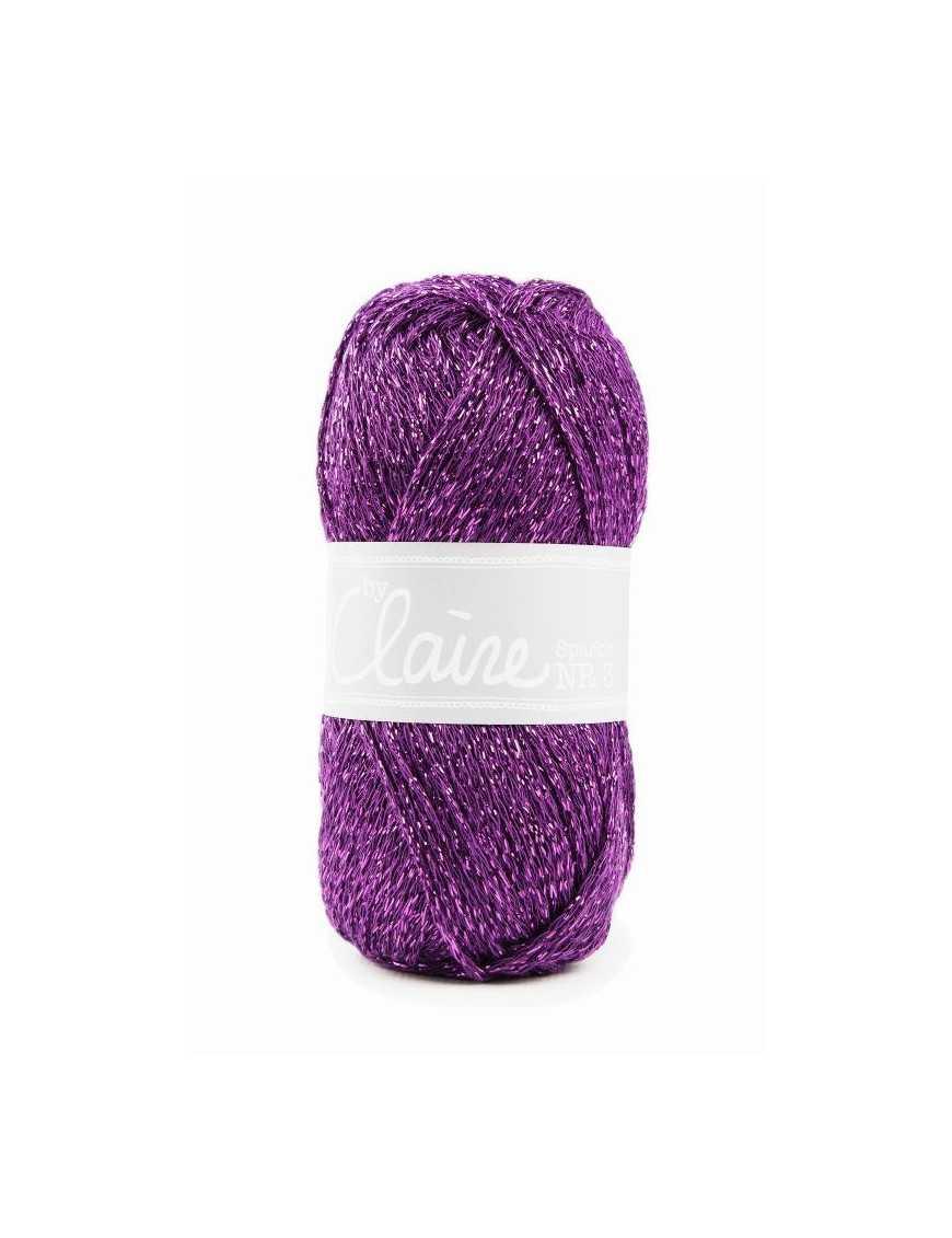 ByClaire nr 3 Sparkle dark purple 271