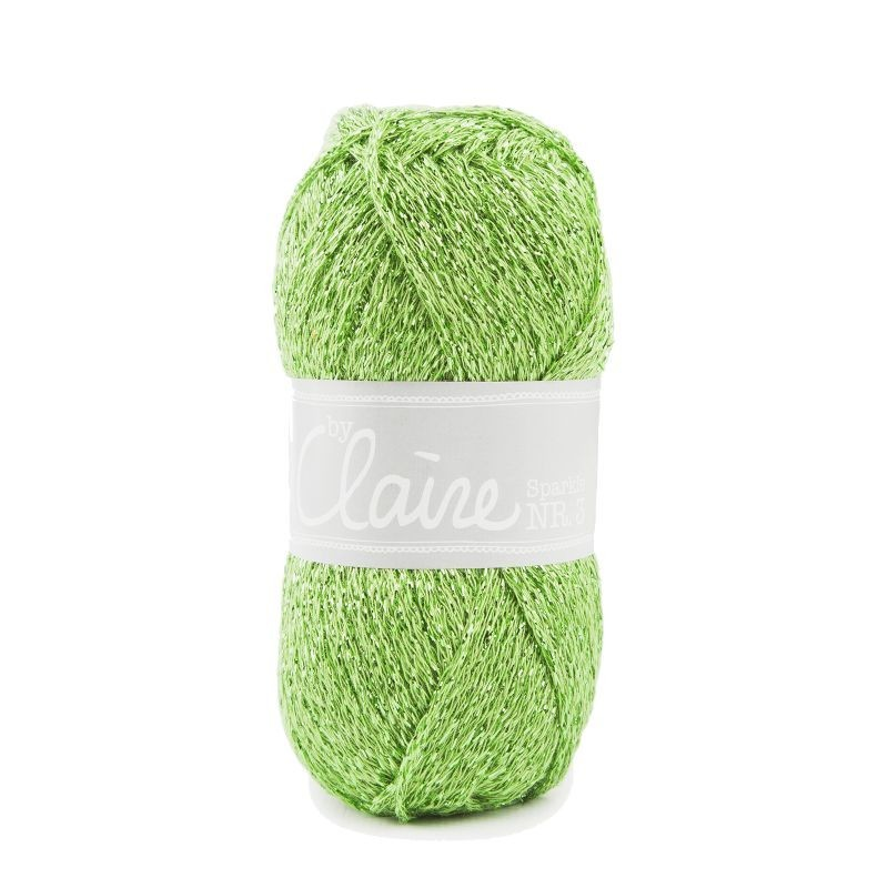 ByClaire nr 3 Sparkle lime 352