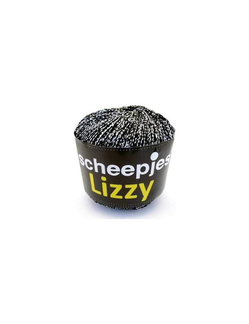 Scheepjes Liizy black - silver 11