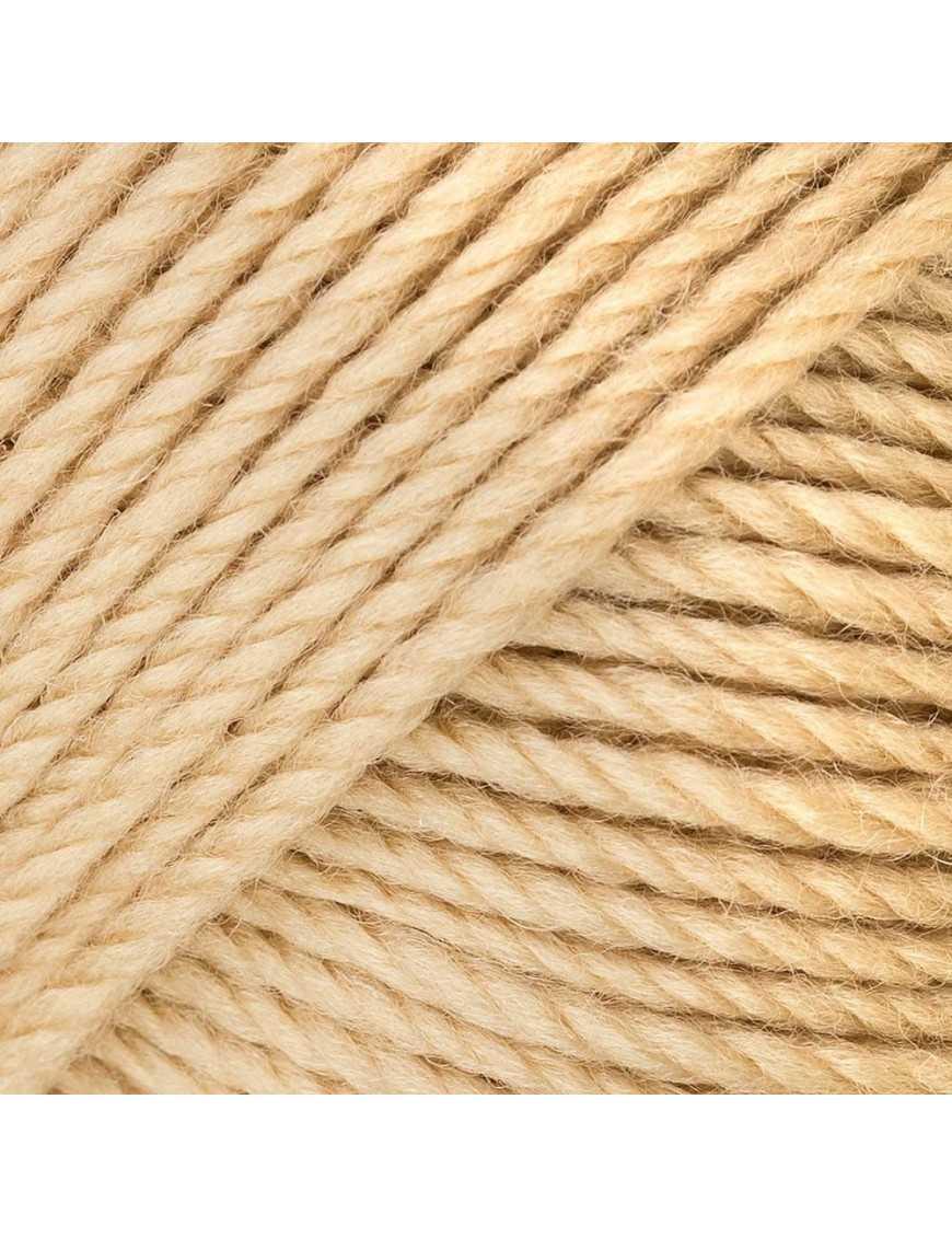 Yarn Rico soft Merino Aran beige 082