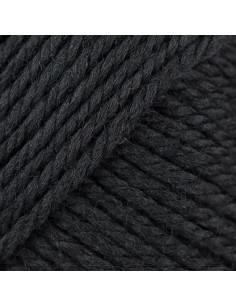 soft Merino Aran black 090