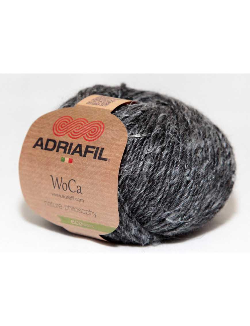 Yarn Woca ash grey 89