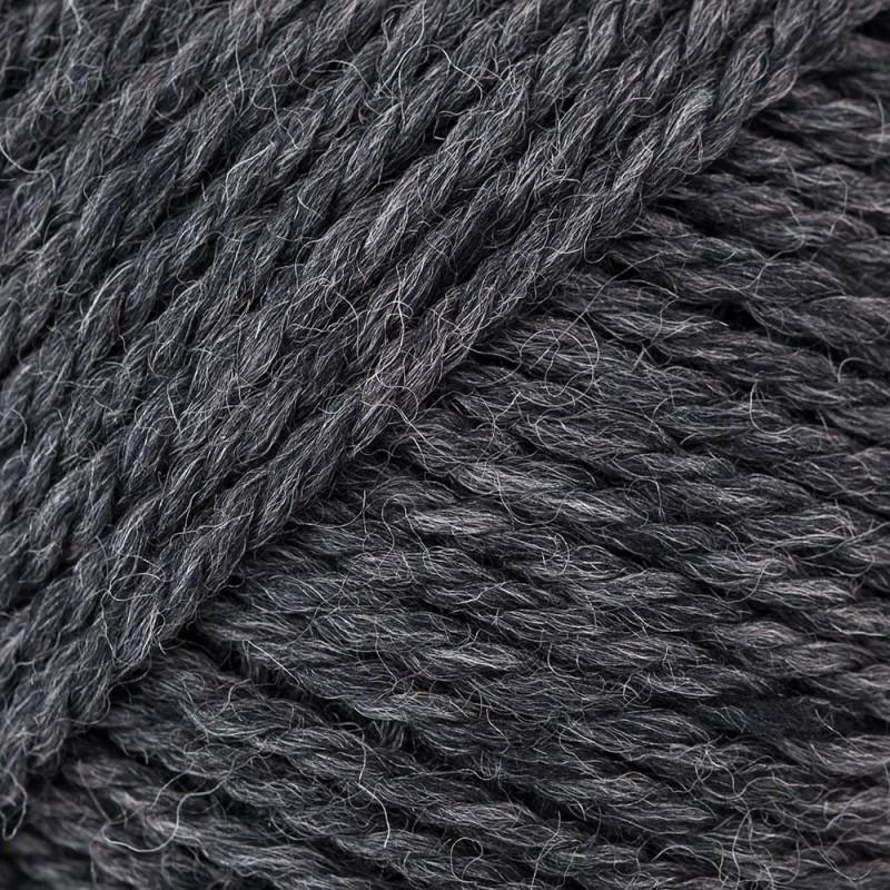 Yarn Rico soft Merino Aran dark grey 093