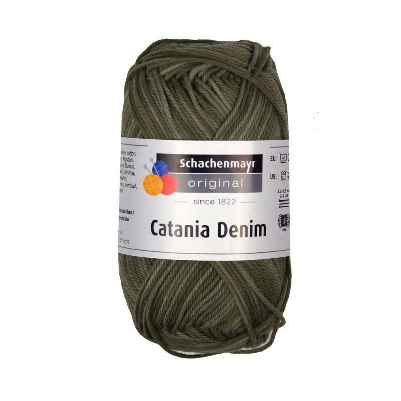 Schachenmayr catania denim olive