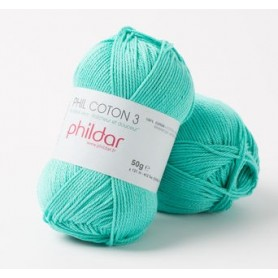 Crochet yarn Phil Coton 3 piscine
