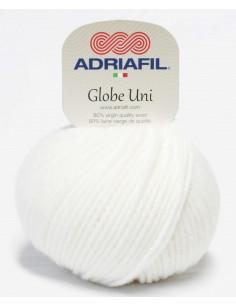 Adriafil Globe Uni white 02