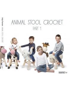 Animals stool crochet