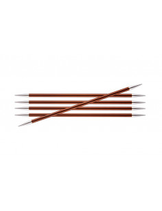 Zing double pointed needles 5,5 mm