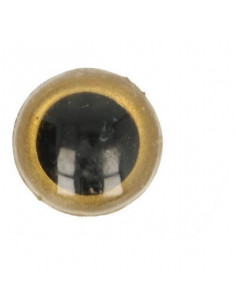 Animal eye 18 mm gold