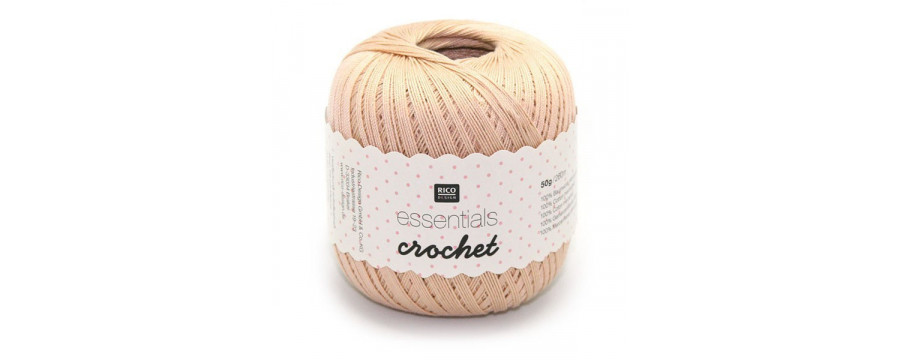 Crochet yarn Essential crochet